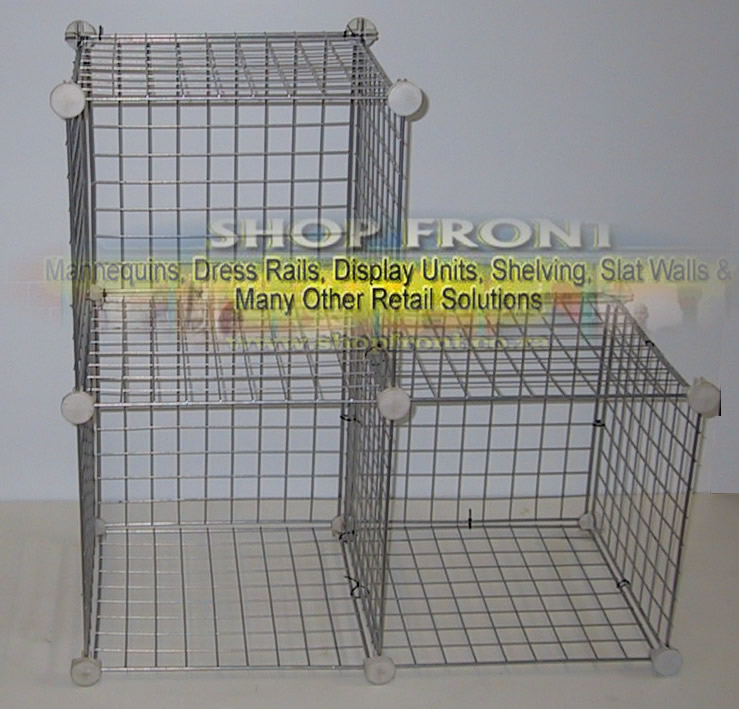 Mesh Cube Shelving Pigion Box