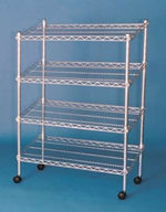 Wire Slope Shelving