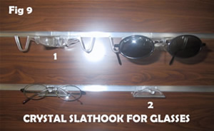 sunglass hook for slatwall